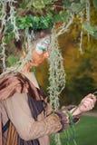 Jesieni czarodziejka Obraz Royalty Free