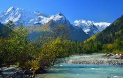 Jesieni dolina Fotografia Stock