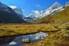Jesieni dolina Obrazy Stock