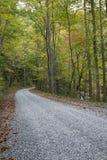 Jesieni droga obrazy stock