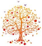 jesienią drzewo Obraz Royalty Free