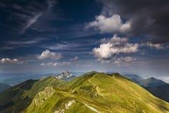 jesienią góry Obraz Stock