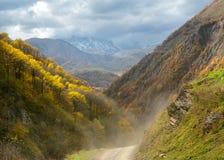Jesieni góry Zdjęcie Stock