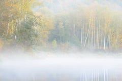Jesieni Gauja rzeka w Sigulda Obraz Stock
