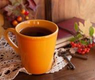 Jesieni herbata Obrazy Royalty Free