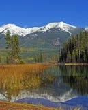 jesienią jeziora Obraz Royalty Free