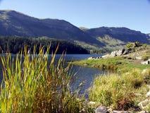 jesienią jeziora zdjęcia royalty free