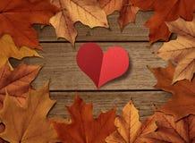 Jesieni miłość Obrazy Royalty Free