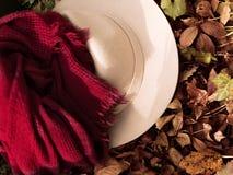 Jesieni mody akcesoria Zdjęcie Royalty Free