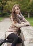 Jesieni mody piękno zdjęcie stock