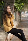 Jesieni mody piękno obraz stock