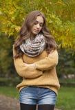 Jesieni mody piękno zdjęcia stock