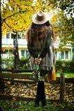 Jesieni mody spojrzenie Zdjęcia Royalty Free