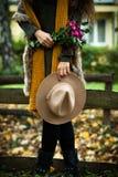Jesieni mody szczegóły Fotografia Stock