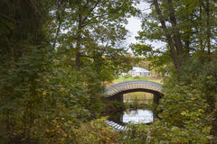 Jesieni Monrepos krajobrazu park Fotografia Royalty Free