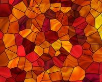 jesienią mozaika Zdjęcie Royalty Free