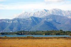 Jesieni natura Montenegro Zdjęcie Stock