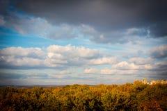 Jesieni niebo Obraz Royalty Free