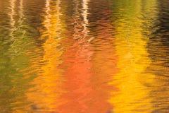 Jesieni odbicia Zdjęcie Stock