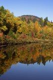 Jesieni odbicie Obrazy Royalty Free