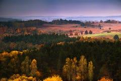 Jesieni panorama 2a Obrazy Royalty Free