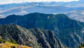 Jesieni pasma górskie fotografia stock
