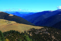 Jesieni piękno Qinghai Tybet plateau Obrazy Royalty Free
