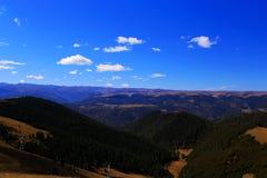 Jesieni piękno Qinghai Tybet plateau Obraz Stock
