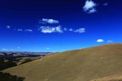 Jesieni piękno Qinghai Tybet plateau Zdjęcie Royalty Free