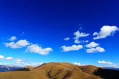 Jesieni piękno Qinghai Tybet plateau Zdjęcia Royalty Free