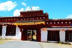 Jesieni piękno Qinghai Tybet plateau Obraz Royalty Free