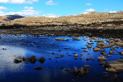 Jesieni piękno Qinghai Tybet plateau Fotografia Stock