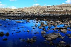 Jesieni piękno Qinghai Tybet plateau Zdjęcie Stock