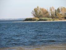 jesieni plaża Obrazy Stock