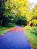 Jesieni podejście fotografia stock