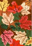 jesienią podłogę las Obrazy Royalty Free