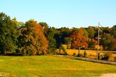 Jesieni podróż Fotografia Royalty Free