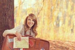 Jesieni podróż Fotografia Stock