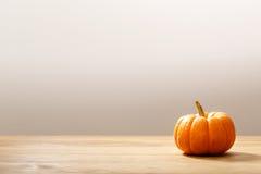 Jesieni pomarańczowa mała bania fotografia royalty free