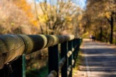 Jesieni przejście zdjęcia stock