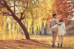 Jesieni przespacerowanie Fotografia Stock