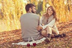 Jesieni przyjemności Obraz Royalty Free