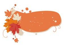 jesienią rama Obraz Stock