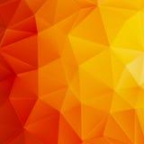 Jesieni słońca trójboka szablon plus EPS10 Obraz Stock