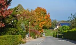 Jesieni sceneria Luzern, Szwajcaria zdjęcia royalty free