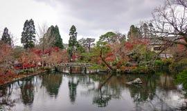 Jesieni sceneria w Kyoto, Japonia Zdjęcia Stock