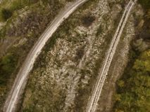 Jesieni sceneria wiejska droga Obraz Stock