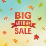 Jesieni sprzedaże Fotografia Stock