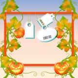 Jesieni sprzedaży ulotka dekoruje banie Luksusowy promo plakat, ramy sieć i ulotka sztandar z etykietkami lub Szablon dla projekt ilustracji