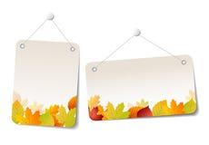 Jesieni sprzedaży majchery - etykietki Zdjęcia Royalty Free